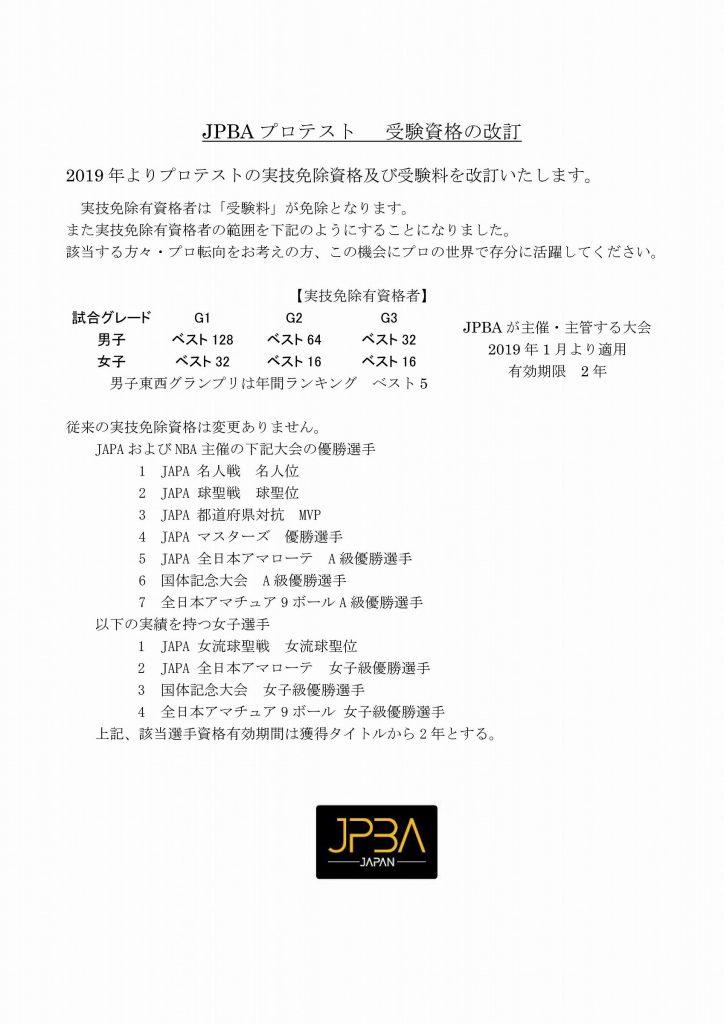 第54期JPBAプロテスト前期要綱3